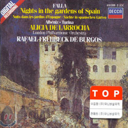 Falla : Nights in the Gardens of Spain : LarrochaㆍFruhbeck de Burgos