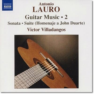 Victor Villadangos 라우로: 기타 작품 2집 (Lauro: Guitar Music, Vol.2)