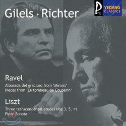 RavelㆍLiszt : GilelsㆍRichterㆍPostnikova