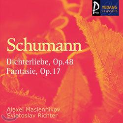 Schumann : DichterliebeㆍFantasie : MaslennikovㆍRichter