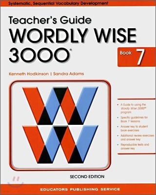 Wordly Wise 3000 : Book 7 Teacher's Guide (2nd Edition)