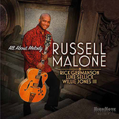 Russell Malone - All About Melody (CD)