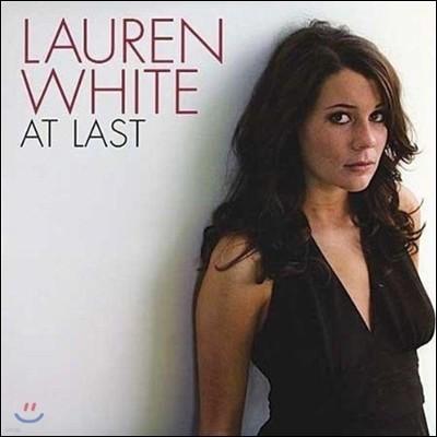 Lauren White (로렌 화이트) - At Last [Vinyl]