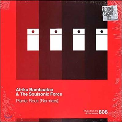 Afrika Bambaata & The Soulsonic Force (아프리카 밤바타 & 더 소울소닉 포스) - Planet Rock (Remixes) [레코드 스토어 데이 한정반 LP]