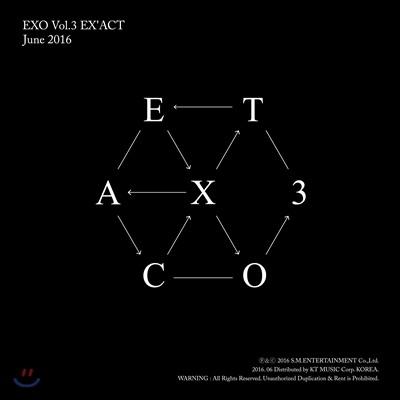 엑소 (EXO) 3집 - EX'ACT [Chinese Ver.]