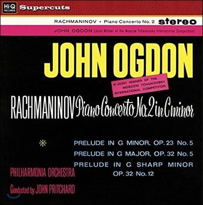 John Ogdon / John Pritchard 라흐마니노프: 피아노 협주곡 2번, 전주곡 (Rachmaninov: Piano Concerto No.2, Preludes) 존 오그던, 존 프리차드