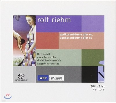 Theo Nabicht / Hilliard Ensemble 롤프 림: 알파벳, 존 돈 외 (Rolf Riehm: Aprikosebaume Gibt Es, Aprikosenbaume Gibt Es)