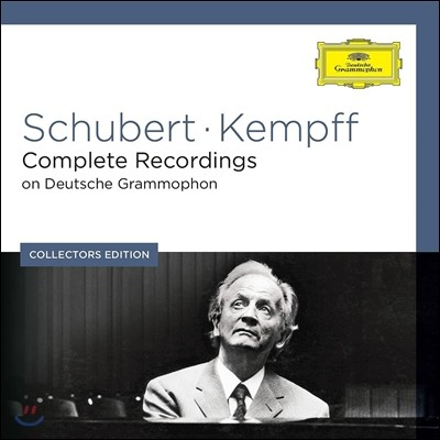 Wilhelm Kempff 슈베르트: DG 피아노 녹음 전집 - 빌헬름 켐프 (Schubert: Complete Recordings on Deutsche Grammophon)