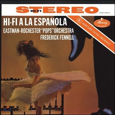 Frederick Fennell 하이파이 에스파뇰라 - 데 파야 / 투리나 / 레쿠오나 / 퍼시 페이스 외 - 이스트만 로체스터 팝스 오케스트라 (Hi-Fi A La Espanola - De Falla, Turina, Guarnieri, Lecuona, Percy Faith) [LP]
