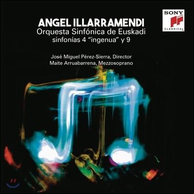 Jose Miguel Perez-Sierra 앙헬 일라라멘디: 교향곡 4번, 9번 - 호세 미구엘 페레즈 시에라 (Angel Illarramendi: Sinfonias 4 'Ingenua' & 9)