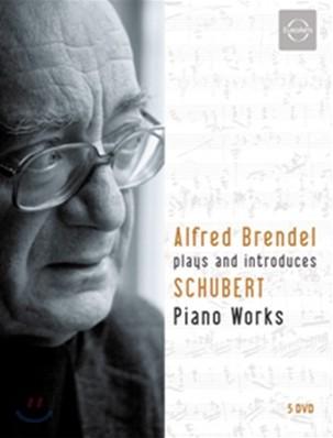 Alfred Brendel 슈베르트: 후기 피아노 작품집 (Schubert Piano Works) 알프레드 브렌델의 해설과 연주 [5 DVD]