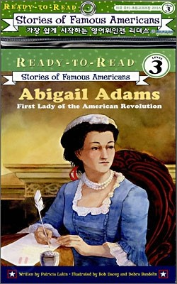 Ready-To-Read Level 3 : Abigail Adams First Lady Of The American Revolution (Book + CD)