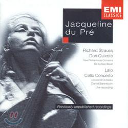 R.Strauss : Don Quixote / Lalo : Cello Concerto : Jacqueline Du Pre