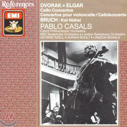 Dvorak / Elgar : Cello Concerto / Bruch : Kol Nidrei : Casals