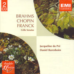 BrahmsㆍChopinㆍFranck : Cello Sonatas : Du PreㆍBarenboim