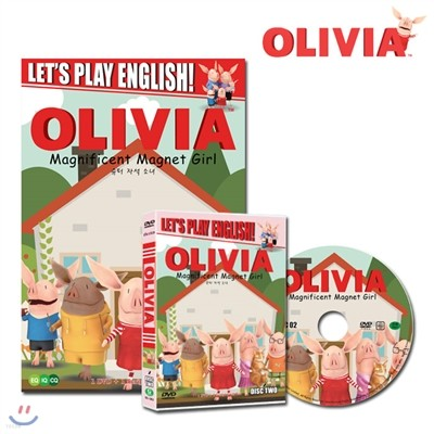 (DVD+BOOK) 올리비아 시즌 2 (Olivia Season 2 DVD+BOOK)