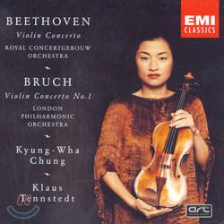 베토벤 / 브루흐 : 바이올린 협주곡 - 정경화