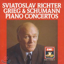 Grieg & Schumann : Piano Concertos : Richter