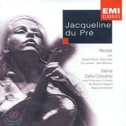 Jacqueline du Pre 재클린 뒤 프레 리사이틀 - 바흐 / 브루흐 / 멘델스존 / 슈만 외 (A Jacqueline du Pre Recital - Bach / Bruch / Mendelssohn / Schumann)