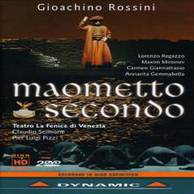 로시니: 오페라 '마호메트 2세' (Rossini: Opera 'Maometto secondo') (DVD) (2012) - Claudio Scimone