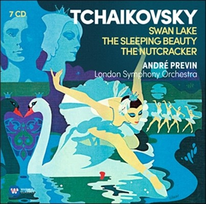 Andre Previn 차이코프스키: 발레 모음집 - 백조의 호수, 잠자는 숲속의 미녀, 호두까기 인형