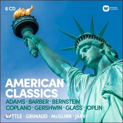 미국의 클래식 - 존 아담스 / 사무엘 바버 / 레너드 번스타인 / 아론 코플랜드 / 거슈인 / 필립 글래스 / 조플린 (American Classics: Adams, Barber, Bernstein, Copland, Gershwin, Glass, Joplin)