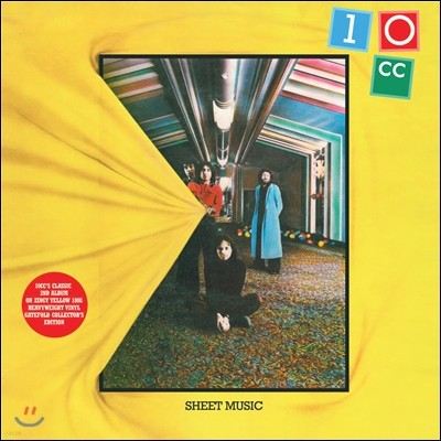10CC (텐씨씨) - Sheet Music [Yellow Vinyl Edition]
