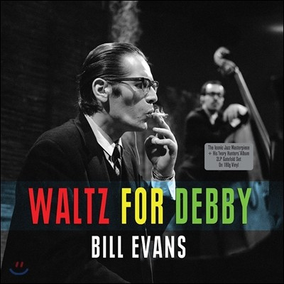 Bill Evans (빌 에반스) - Waltz For Debby / The Ivory Hunters (with Bob Brookmeyer) [2LP]