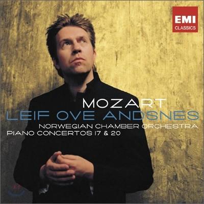 모차르트: 피아노 협주곡 17번 & 20번 - 레이프 오베 안스네스