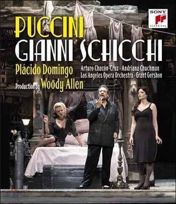 Placido Domingo 푸치니: 잔니 스키키 - 플라시도 도밍고, 아드리아나 처크맨 [우디 앨런 연출] (Puccini: Gianni Schicchi [Production by Woody Allen)