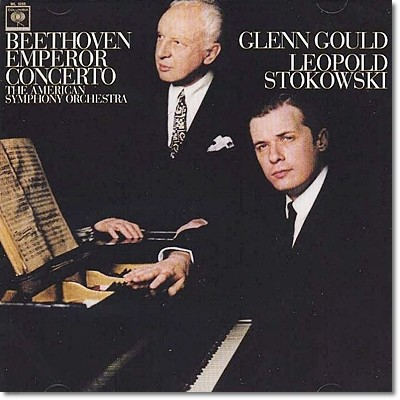 베토벤 : 피아노 협주곡 5번 - 글렌 굴드, 스토코프스키