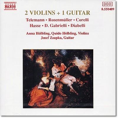 2대의 바이올린과 기타를 위한 작품 1집 (Two Violins And One Guitar, Vol.1)