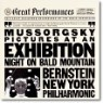 Leonard Bernstein 무소르그스키 : 전람회의 그림 (Mussorgsky : Pictures At An Exhibition, Night On Bald Mountain) 레오나드 번스타인
