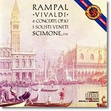 비발디 : 6개 플루트 협주곡 Op.10 - 랑팔