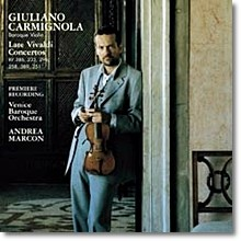 Giuliano Carmignola 비발디: 후기 바이올린 협주곡집 (Vivaldi : Late Violin Concertos) 줄리아노 카르미놀라