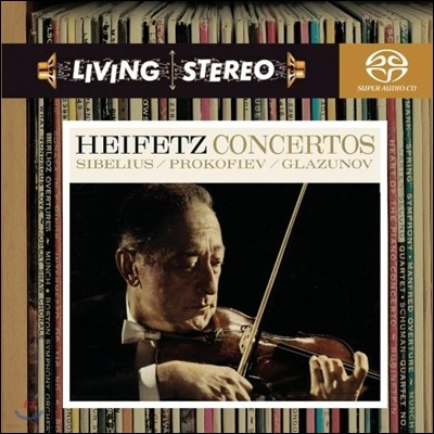 Jascha Heifetz 야샤 하이페츠 바이올린 협주곡 - 시벨리우스 / 글라주노프 / 프로코피에프 (Sibelius / Prokofiev / Glazunov: Violin Concertos)