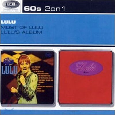 Lulu - Most Of Lulu + Lulu's Album (2 On 1)