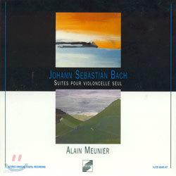 Bach : Six Cello Suite : Alain Meunier