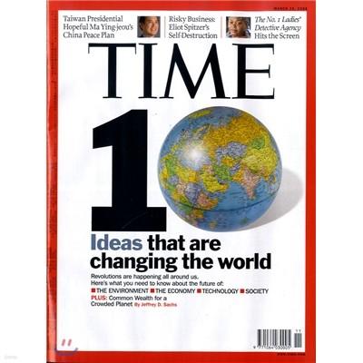 Time (주간) - Asia Ed. 2008년 03월 24일자