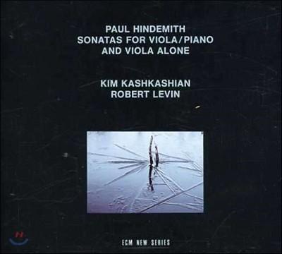 Kim Kashkashian 힌데미트: 비올라와 피아노를 위한 소나타, 비올라 독주 소나타 (Paul Hindemith: Sonatas for Viola & Piano and Viola Alone) 킴 카쉬카쉬안