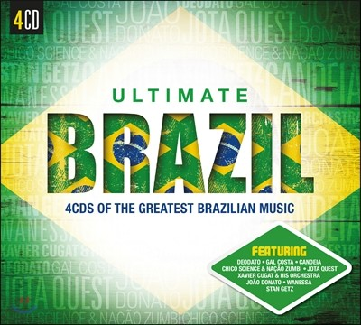 Ultimate Brazil (얼티밋 브라질) - 4CDs Of The Greatest Brazilian Music