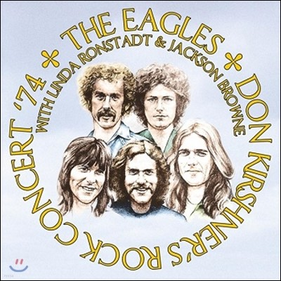 The Eagles & Linda Ronstadt & Jackson Browne (이글스, 린다 론스태드, 잭슨 브라운) - Don Kirshner'S Rock Concert '74