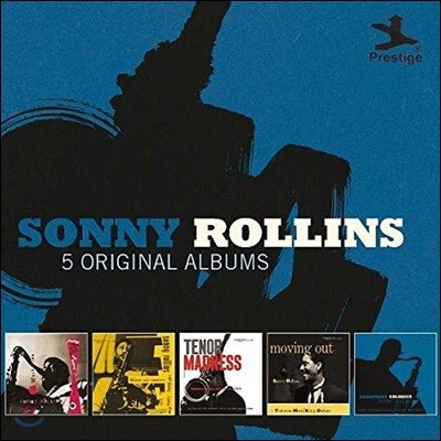 Sonny Rollins - 5 Original Albums [With Full Original Artwork] 소니 롤린스 오리지널 앨범 5CD 박스 세트