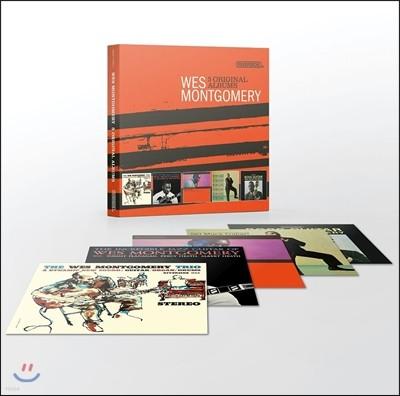 Wes Montgomery (웨스 몽고메리) - 5 Original Albums [With Full Original Artwork] (5CD 오리지널 앨범 박스 세트)