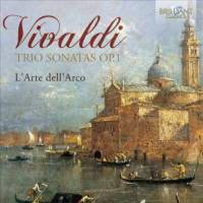 비발디: 12개의 두 대의 바이올린을 위한 트리오 소나타 (Vivaldi: 12 Trio Sonatas for Two Violins & Continuo, Op.1) (2CD) - L'Arte dell'Arco