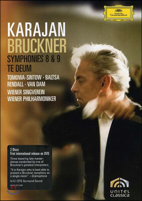 Herbert von Karajan 브루크너: 교향곡 8 ,9번, 테 데움 (Bruckner: Symphony No, 8, 9, Te Deum)