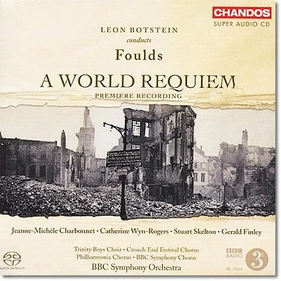 Leon Botstein 존 풀즈: 월드 레퀴엠 (John Foulds: A World Requiem, Op. 60)