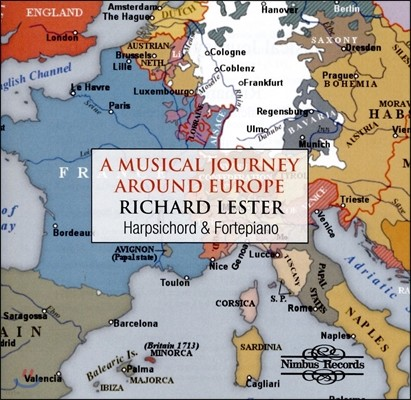 Richard Lester 유럽으로 떠나는 음악여행 - 포르테피아노와 하프시코드 (A Musical Journey Around Europe - Harpsichord and Fortepiano) 리차드 레스터, 엘리자베스 레스터