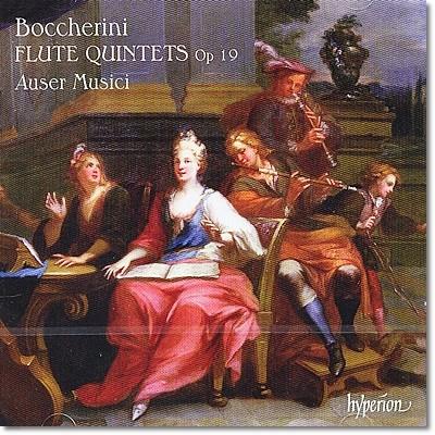 보케리니 : 6개의 플룻 오중주 OP.19