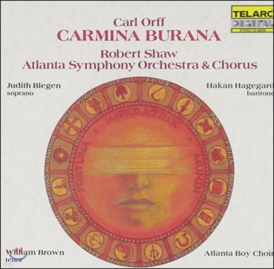 Robert Shaw 오르프: 카르미나 부라나 (Carl Orff: Carmina Burana)